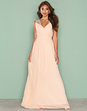 TFNC Light Beige Esme Maxi Dress