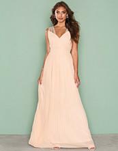 TFNC Light Beige Esme Maxi Dress