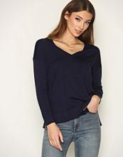 Polo Ralph Lauren Navy LS VN Sweater