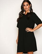 Vero Moda Svart Vmgabby 2/4 Short Dress Noos