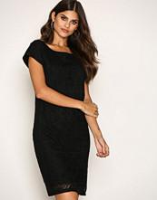 Lauren Ralph Lauren Black Vasendra Short Sleeve Dress