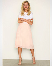 Vero Moda Lys rosa Vmeliza Pleated H/W Skirt Nfs - Ka