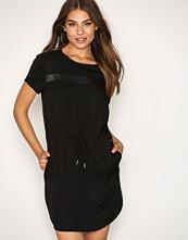 Calvin Klein Black Damia Woven Dress S/S