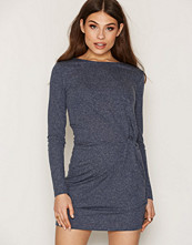 Jacqueline de Yong Mørk blå Jdyzada L/S Dress Jrs