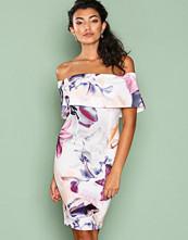Ginger Fizz White/Floral Floral Paradise Dress