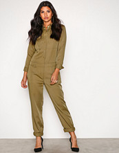 Michael Kors Green Relaxed Jumpsuit