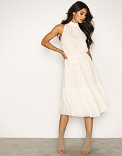Michael Kors Bone Smock Halter Dress