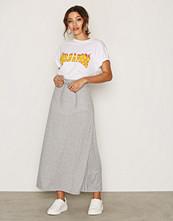 Vero Moda Lys grå Vmlony Nw Ankle Skirt Noos