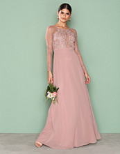 NLY Eve Rose Whenever Lace gown