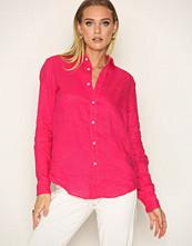 Polo Ralph Lauren Bright Pink Long Sleeve Polo Shirt