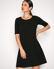 Vila Svart Vicaro A-Shape Jersey Dress-Noos