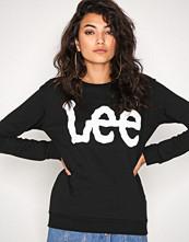 Lee Jeans Black Logo Sweatshirt