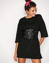 Glamorous Black Corset Detail Dress