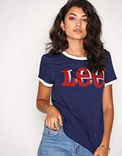 Lee Jeans Blue Retro Logo Tee