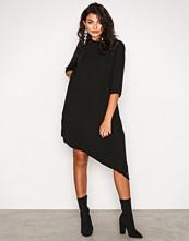 Calvin Klein Black Danaka Asym Dress