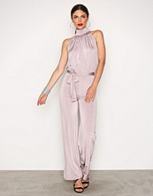 NLY One Taupe Turtle Neck Jumpsuit