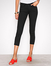 Lee Jeans Black Rinse Scarlett Cropped Black