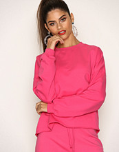 NLY Trend Bright Pink Bounce Back Sweat