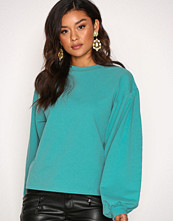 NLY Trend Teal Big Balloon Sweat