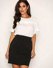 Selected Femme Svart Sfthilda Mw Sweat Skirt