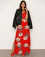 Ax Paris Red Flower Maxi Dress