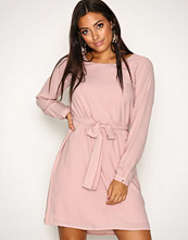 Dry Lake Light Pink Magic Belt Dress