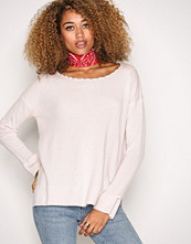 Odd Molly Soft Rose Wide Away Sweater