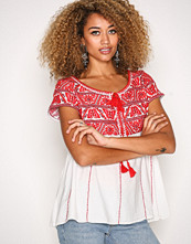 Odd Molly Red Oh La La S/S Blouse