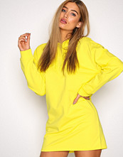 NLY Trend Neon Yellow Open Back Hoodie