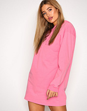 NLY Trend Neon Pink Open Back Hoodie