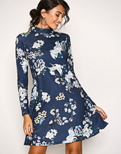 NLY Trend Navy Print Swing Dress