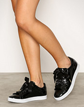 NLY Shoes Svart Patent Sneaker