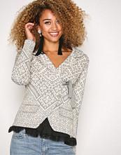Odd Molly Light Grey Lovely Knit Jacket