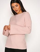 Vero Moda Lys rosa Vmella Wide Sleeve Rib Blouse Vip