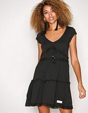 Odd Molly Almost Black Whiteness Dress