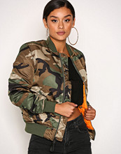 Alpha Industries Camo MA-1 SF Wmn 80's Oversize