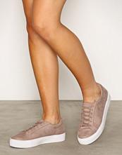 NLY Shoes Mauve Platform Sneaker