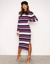 Hilfiger Denim Blue THDW Stripe Dress L/S