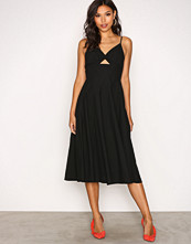 T by Alexander Wang Black Slvls Vnk Full Dress