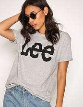Lee Jeans Grey Logo Tee