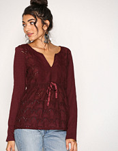 Odd Molly Burgundy Summer Night L/S Blouse