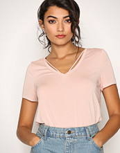 Only Lys rosa onlMILEY S/S Top Ess