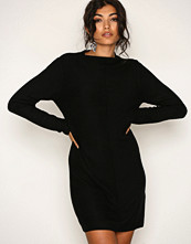 Jacqueline de Yong Svart Jdymindy L/S Dress Knt Sky