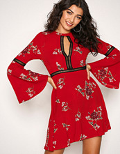 Kiss The Sky Red East Meets West Dress