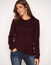 Polo Ralph Lauren Wine Julianna Wool Sweater
