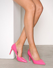 NLY Shoes Pink Patent Pointy Stiletto Pump