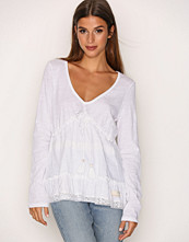 Odd Molly Shell Whiteness L/S Blouse