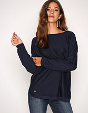 Lauren Ralph Lauren Navy Fintra Long Sleeve Sweater