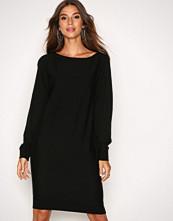 Lauren Ralph Lauren Black Denessa Long Sleeve Casual Dress