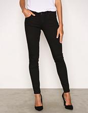 Noisy May Svart Nmlexi Hw Super Slim Jeans VI316 Ns